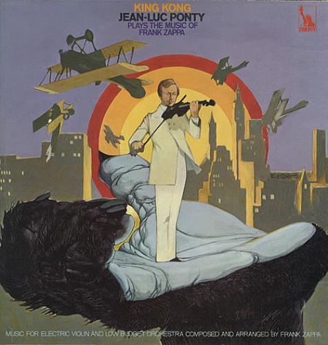 Jean-Luc Ponty King Kong vinyl LP album (LP record) UK JA7LPKI336655