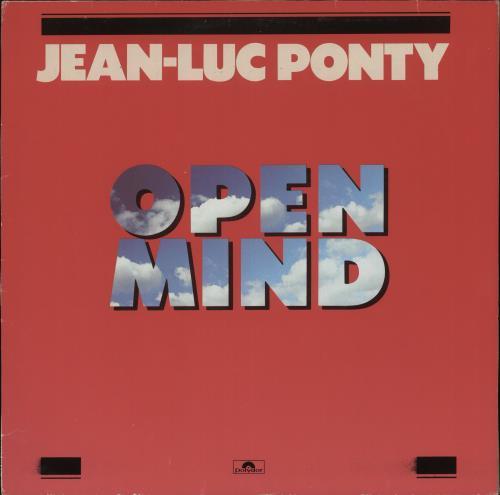 Jean-Luc Ponty Open Mind vinyl LP album (LP record) German JA7LPOP663964