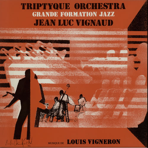 Jean-Luc Vignaud Triptyque Orchestra vinyl LP album (LP record) French JRFLPTR584580