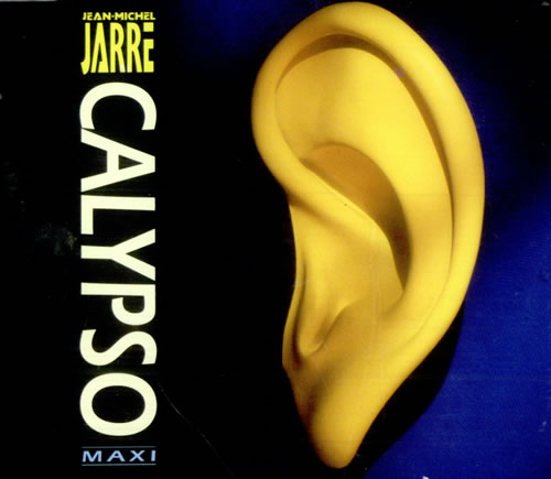 "Jean-Michel Jarre Calypso CD single (CD5 / 5"") German JMJC5CA15727"
