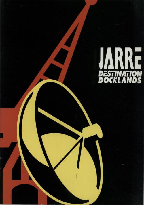 Jean-Michel Jarre Destination Docklands tour programme UK JMJTRDE51099