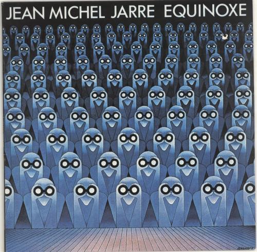 Jean-Michel Jarre Equinoxe vinyl LP album (LP record) Portugese JMJLPEQ673500