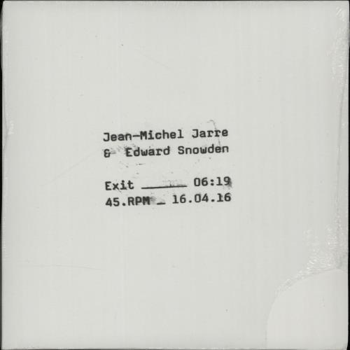 """Jean-Michel Jarre Exit - RSD 16 - Sealed 7"""" vinyl single (7 inch record) UK JMJ07EX651091"""