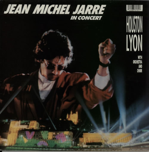 Jean-Michel Jarre In Concert Houston Lyon vinyl LP album (LP record) UK JMJLPIN616702