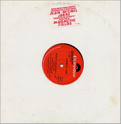 """Jean-Michel Jarre Magnetic Fields 12"""" vinyl single (12 inch record / Maxi-single) US JMJ12MA17258"""