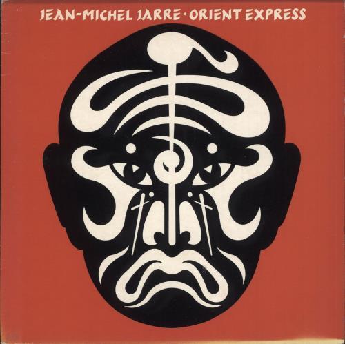 "Jean-Michel Jarre Orient Express + Sleeve 7"" vinyl single (7 inch record) UK JMJ07OR09358"