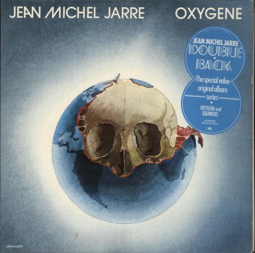 Jean-Michel Jarre Oxygene & Equinoxe - Hype sticker 2-LP vinyl record set (Double Album) UK JMJ2LOX741561