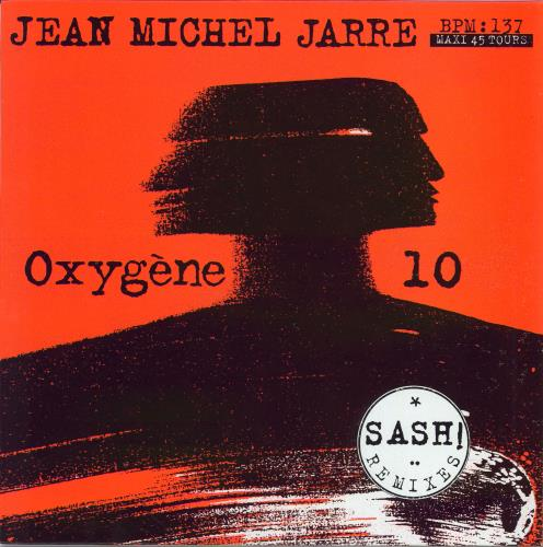 "Jean-Michel Jarre Oxygene 10 12"" vinyl single (12 inch record / Maxi-single) French JMJ12OX89739"