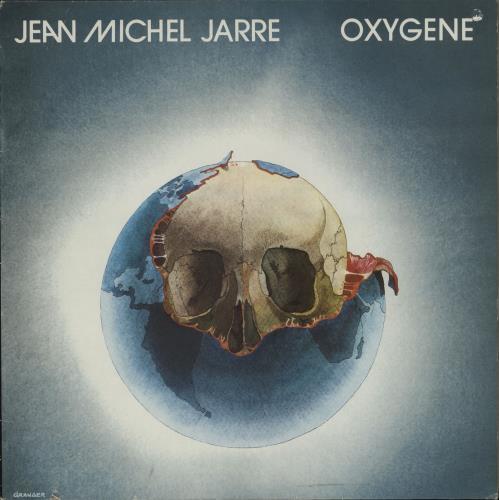 Jean-Michel Jarre Oxygene vinyl LP album (LP record) French JMJLPOX751909