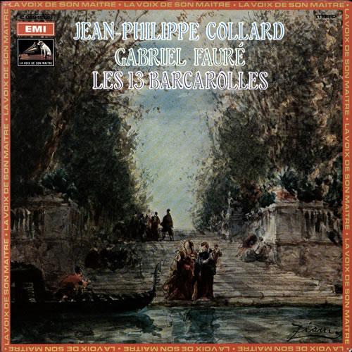 Jean-Phillipe Collard Les 13 Barcarolles vinyl LP album (LP record) French K6BLPLE565332