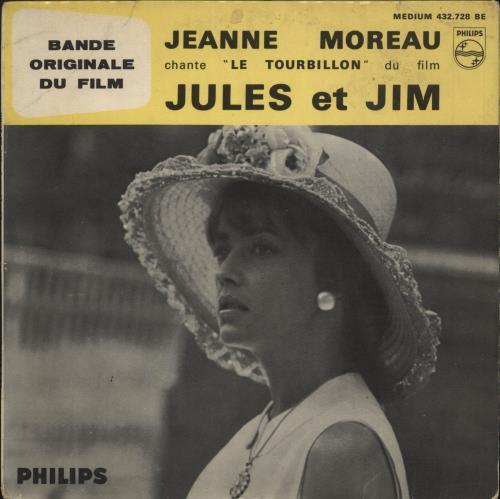 "Jeanne Moreau Jules Et Jim - EX 7"" vinyl single (7 inch record) French J7907JU726510"