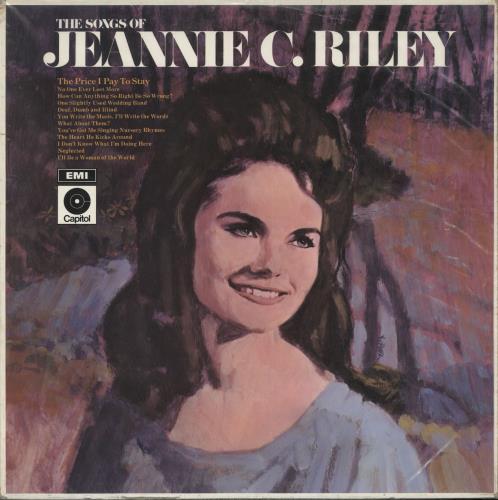 Jeannie C. Riley The Songs Of Jeannie C. Riley vinyl LP album (LP record) UK RLYLPTH720644