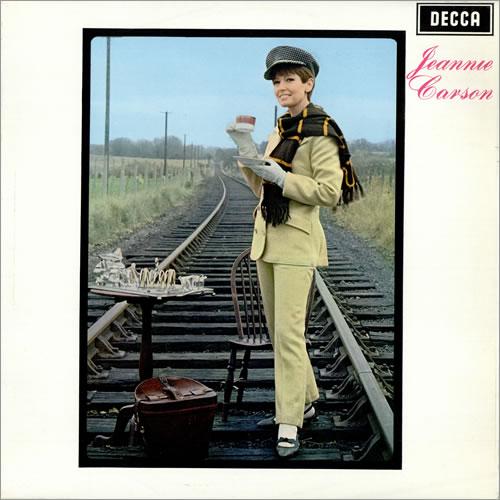 Jeannie Carson Jeannie Carson vinyl LP album (LP record) UK JT6LPJE474474