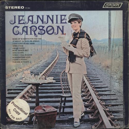 Jeannie Carson The Girl With S.Q. vinyl LP album (LP record) US JT6LPTH700079
