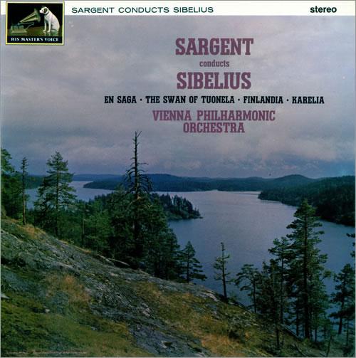 Jean Sibelius Sargent Conducts Sibelius - 2nd vinyl LP album (LP record) UK SE3LPSA483287