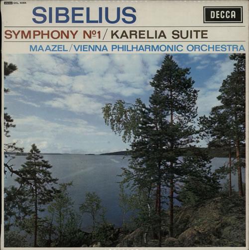 Jean Sibelius Symphony No. 1 / Karelia Suite - 2nd vinyl LP album (LP record) UK SE3LPSY560297