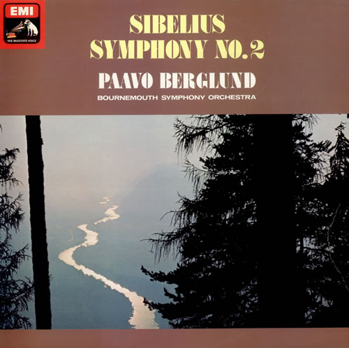 Jean Sibelius Symphony No. 2 - Quad vinyl LP album (LP record) UK SE3LPSY482485