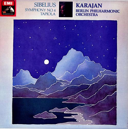 Jean Sibelius Symphony No. 4 - Quad vinyl LP album (LP record) UK SE3LPSY482908
