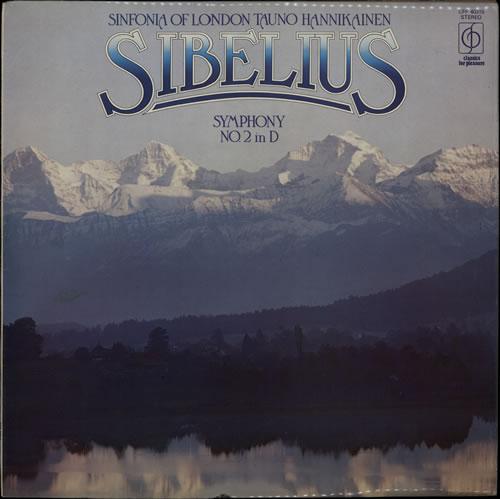 Jean Sibelius Symphony No.2 in D major Op. 43 vinyl LP album (LP record) UK SE3LPSY565547