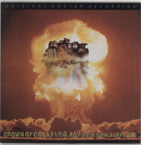 Jefferson Airplane Crown Of Creation - Half-Speed Mastered vinyl LP album (LP record) US JEFLPCR745952