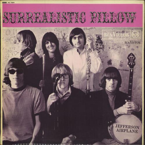 Jefferson Airplane Surrealistic Pillow - 1st - EX vinyl LP album (LP record) UK JEFLPSU776403