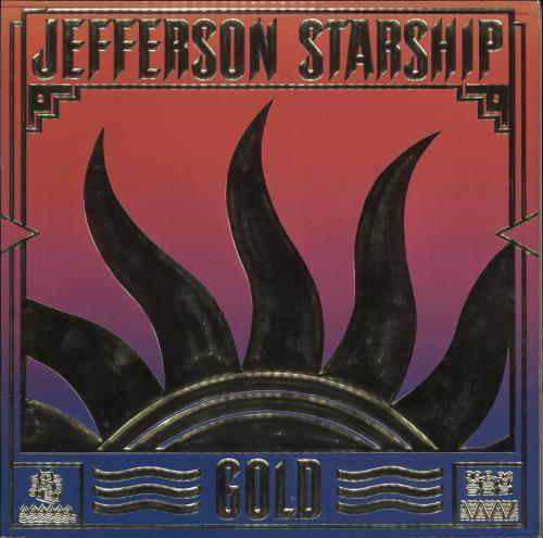 "Jefferson Starship Gold + 7"" vinyl LP album (LP record) US JFSLPGO707534"