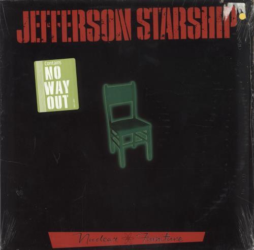 Jefferson Starship Nuclear Furniture - Sealed vinyl LP album (LP record) US JFSLPNU726792