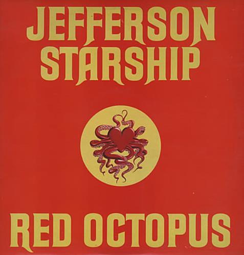 Jefferson Starship Red Octopus vinyl LP album (LP record) UK JFSLPRE261098