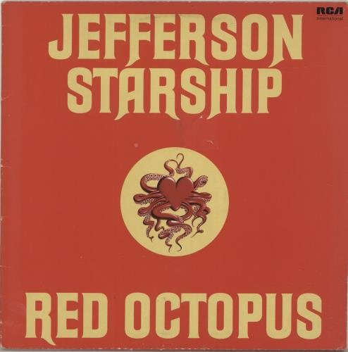 Jefferson Starship Red Octopus vinyl LP album (LP record) UK JFSLPRE693993