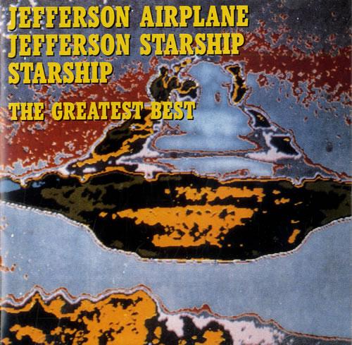 Jefferson Starship The Greatest Hits Japanese Cd Album