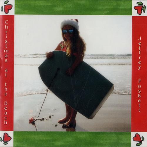 Jeffrey Foskett Christmas At The Beach CD album (CDLP) US J6FCDCH557639