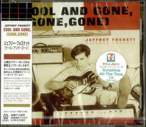 Jeffrey Foskett Cool And Gone [Gone, Gone] CD album (CDLP) Japanese J6FCDCO538868