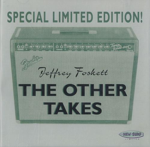 Jeffrey Foskett The Other Takes CD album (CDLP) Japanese J6FCDTH557545