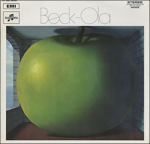 Jeff Beck Beck-Ola - 1st vinyl LP album (LP record) French BEKLPBE377772
