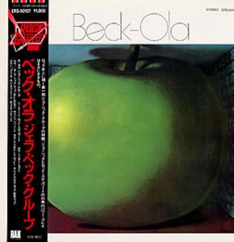 Jeff Beck Beck-Ola vinyl LP album (LP record) Japanese BEKLPBE165946