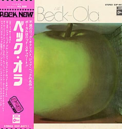Jeff Beck Beck-ola vinyl LP album (LP record) Japanese BEKLPBE229039