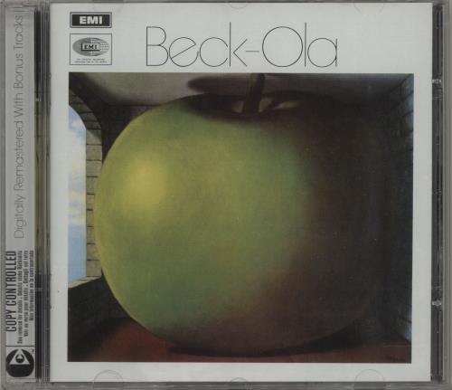 Jeff Beck Beck-Ola CD album (CDLP) UK BEKCDBE283789