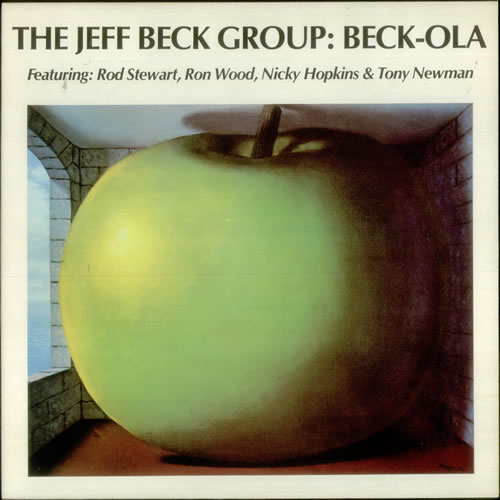 Jeff Beck Beck-Ola vinyl LP album (LP record) UK BEKLPBE546975