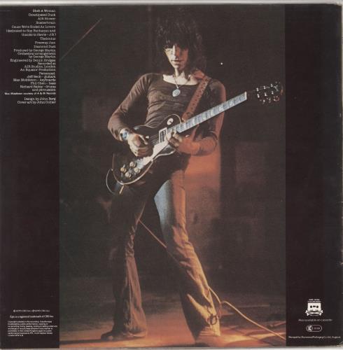 Jeff Beck Blow By Blow vinyl LP album (LP record) UK BEKLPBL370147