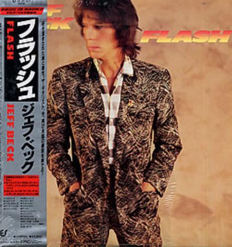 Jeff Beck Flash vinyl LP album (LP record) Japanese BEKLPFL279756
