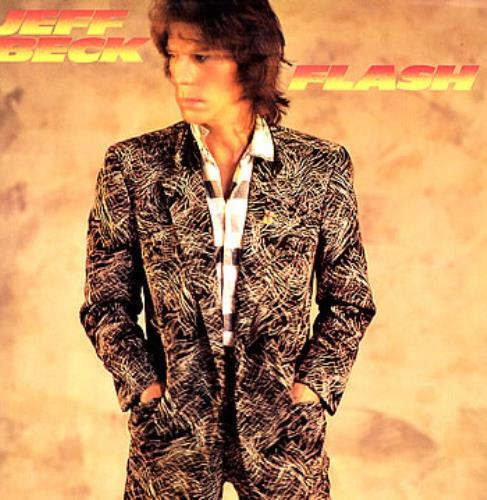 Jeff Beck Flash vinyl LP album (LP record) UK BEKLPFL284318