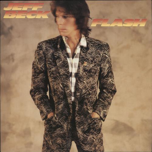 Jeff Beck Flash vinyl LP album (LP record) Dutch BEKLPFL698073