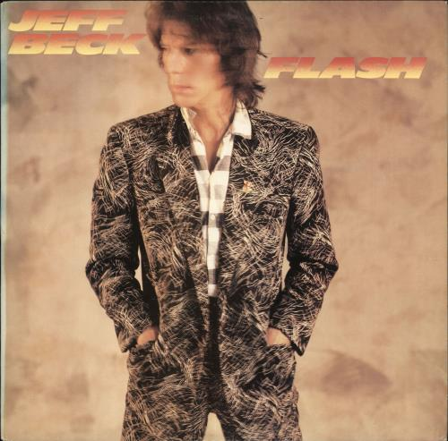 Jeff Beck Flash vinyl LP album (LP record) US BEKLPFL713839