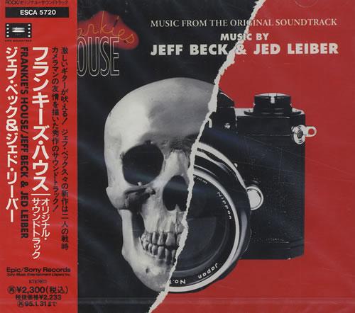 Jeff Beck Frankie's House CD album (CDLP) Japanese BEKCDFR174269