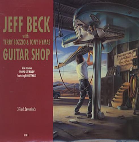 "Jeff Beck Guitar Shop 7"" vinyl single (7 inch record) UK BEK07GU192868"