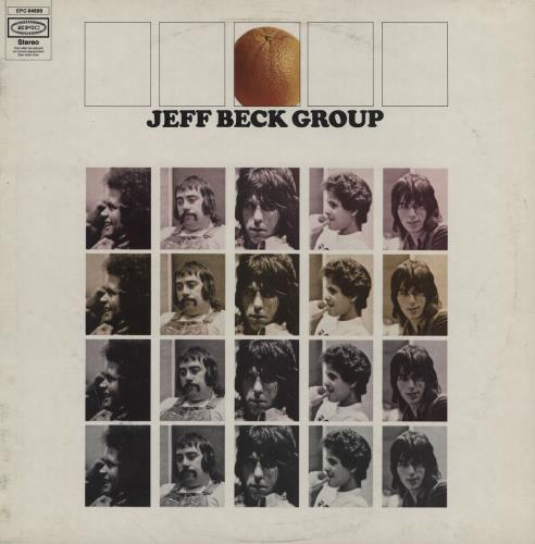 Jeff Beck Jeff Beck Group - VG/EX vinyl LP album (LP record) UK BEKLPJE707350