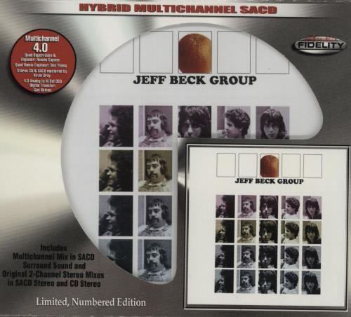 Jeff Beck Jeff Beck Group super audio CD SACD US BEKSAJE755471