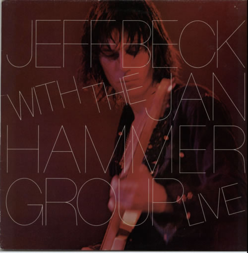 Jeff Beck Live - blue label vinyl LP album (LP record) UK BEKLPLI228241