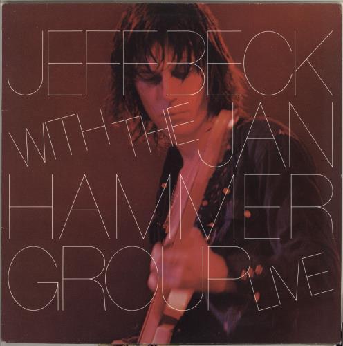 Jeff Beck Live vinyl LP album (LP record) UK BEKLPLI718340