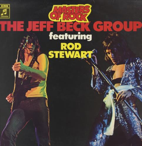 Jeff Beck Masters Of Rock vinyl LP album (LP record) German BEKLPMA373668